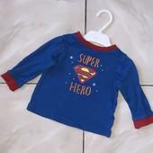 Стоп !❤ Реглан супермена,6-9 мес❤ Много лотов!