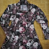 Свитер( туника, платье) шикарной расцветки