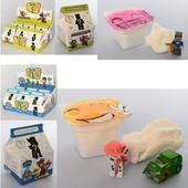 Набор игровой с фигурками Щенячий патруль и массой для лепки + подарок воздушный пластилин