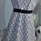 Красивенное платье-сарафан пр-ль Турция 16 размер. Смотрите пож.замеры