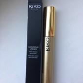 Тушь! Kiko milano luxurious lashes maxi brush mascara