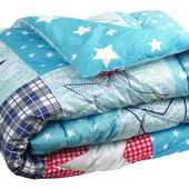 Теплое стегананное силиконовое одеяло. Полуторное или двухспальное
