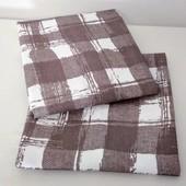 Клетка! Набор полотенец из хлопка отличного качества!