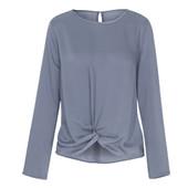 ☘ 1 шт Ніжна блуза з зав'язками blue motion Blue Motion (Німеччина), р. наш: 44/46 (S 36/38 євро)
