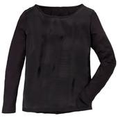 ☘1 шт☘ Ніжна базова блуза від Blue Motion (Німеччина), розмір наш: 50-52 (L 44/46 євро), чорна