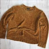 шенниловый, вельветовый свитер,новый primark 18,20/46,48 eur