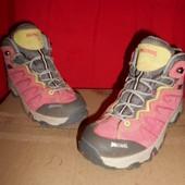 Meindl кожа(замшевые)ботинки.размер 34.стелька 20.5 см.в идеальном состоянии.Оригинал!