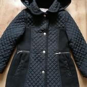 Шикарное стильное пальто куртка George 4-5 лет в идеале