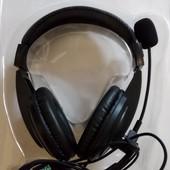 Новые наушники с микрофоном для ПК
