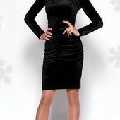 Велюровое платье 52 р