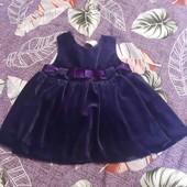 красивое платье на малышку 3-6 месяцев