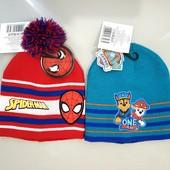Классные двухслоевые шапочки для деток - Спайдермен, Щенячий Патруль!