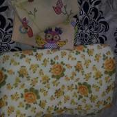 детское одеяло с 2мя пододеяльниками