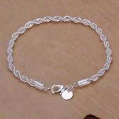 Шикарный браслет с пробой 925 серебра