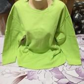 Шикарный ярко салатовый стречь свитерок. 3xl,4xl,5xl. Смотрите лотов много