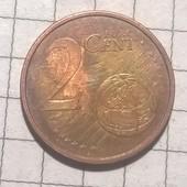 Монета Испании 2 цента 2017
