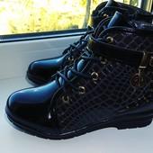 Стильные деми ботинки для самых модных девочек
