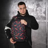 """Текстильный рюкзак """"Pepper"""" черный + подарок"""