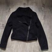 Джинсовая куртка косуха lee на 7-8 лет
