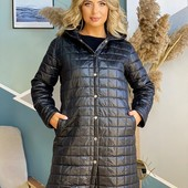Демисезонное пальто 48-50, 52-54