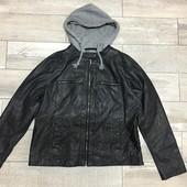 ☘ Лот 1 шт ☘ Куртка з штучної шкіри від Gina Benotti (Німеччина), р.наш 50/52 ( 46 євро) нюанс