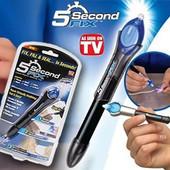 Клей фиксатор 5 Second Fix в форме фломастера - это жидкий пластик, который за 5 секунд твердеет