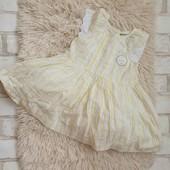 Платье primark, 0-3m,пышное,новое