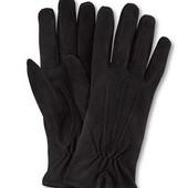 Шикарные натуральные замшевые перчатки от Tchibo Германия, размер примерно 6,5