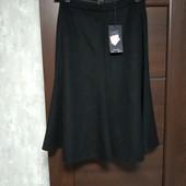 Фирменная новая теплая юбка на подкладке р.10-12.