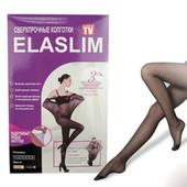 Женские колготки не рвущиеся, суперпрочные капроновые Эласлим Elaslim