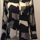 Блузка Next 12 абстрактный рисунок ткани