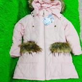 Распродажа! Зимняя куртка для девочки
