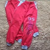 Спортивные брюки для девочек , 100% котон отличного качества