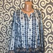 Классная, трикотажная блуза-туничка Street One для стильных модниц. В новом состоянии