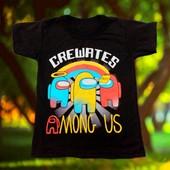 Among us, brawl stars футболки подростковые