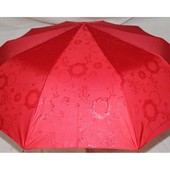 Парасоля напів автомат проявка. Зонт полуавтомат. Красный. Последний!