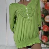 Вау! Обалденная блузочка размер 46