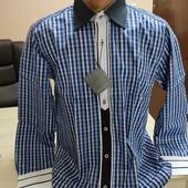 Турция! Мужская рубашка 3 модели