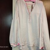 Uk24/eur 50 Holly&White by Lindex, розовая блуза