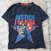 Футболка Justice League,122-128,в идеале