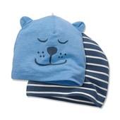☘Лот 2 шт☘ Яскрава шапочка, біо-бавовна, Tchibo (Німеччина), розмір універсальний: 19,5 см