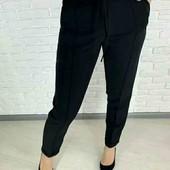 Штани класичні жіночі, висока талія, розмір 46