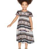 Оригинальное легкое платье на девочку Lupilu Германия размер 92