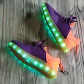 23 см стелька✓Очень удобные светодиодные кроссовки (можно заряжать юсб)✓Реальные фото✓Лоты собираю