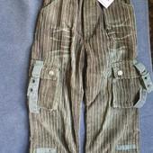 Новые штаны вельвет на 4-5 лет мальчику