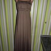 Платье в пол - какао - zigga eur.36- !!!этикетка