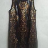 Платье расшитое пайетками Next