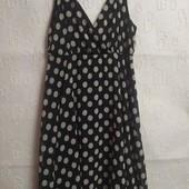 Элегантное платье в горошек Papaya