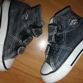 ботиночки джинсовые 14см