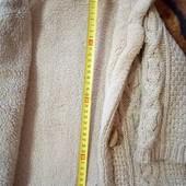 Теплая кофта,меховушка ZARA унисекс на 2-3 г.